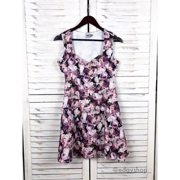 ASOS Dresses & Skirts - [ASOS] Fit and Flare Floral Dress